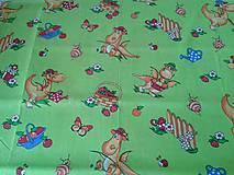 Textil - Látky s detským vzorom - 8433076_