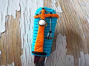 Pomôcky - lyžička so žeriavom - 8433065_