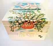 Krabičky - Krabica- Svadobná pošta - 8436266_