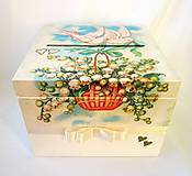 Krabičky - Krabica- Svadobná pošta - 8436267_