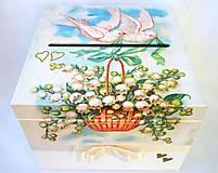 Krabičky - Krabica- Svadobná pošta - 8436269_