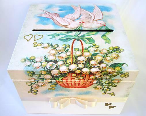 Krabica- Svadobná pošta