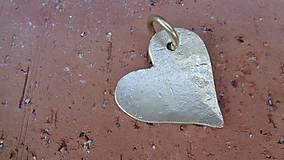 """Náhrdelníky - Amulet - """"Zo zlata má srdce..."""" - 8435726_"""
