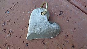 """Náhrdelníky - Amulet - """"Zo zlata má srdce..."""" - 8435793_"""