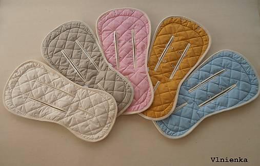 Bugaboo / Joolz Wool Seat Liner Hand Made /vlnená vložka do Bugaboo do Joolz