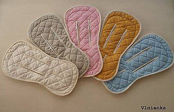 Textil - Bugaboo / Joolz Wool Seat Liner Hand Made /vlnená vložka do Bugaboo do Joolz - 8434400_