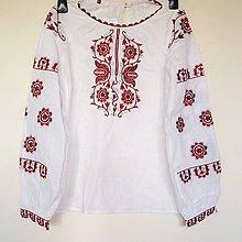 Košele - vyšívaná košeľa Ema - 8435286_