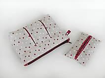 Taštičky - Kozmetická taštička + puzdro - 8435610_