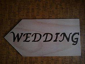 Tabuľky - Svadobná tabuľka II - 8435629_