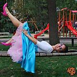 Sukne - Baby pink/světlerůžová univerzální spodnička - 8434991_