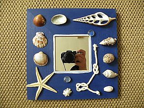 Zrkadlá - Zrcadlo v mořském stylu - 8434309_