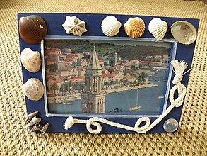 Rámiky - Rámeček na fotku mořský - 8434340_