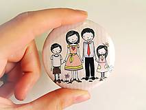 Odznaky/Brošne - Len ja a môj svet - rodina :) - 8433886_