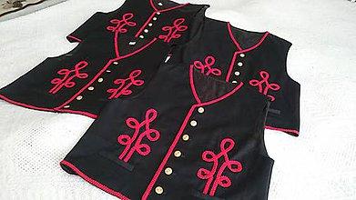 Iné oblečenie - Pánske folklórne lajbliky - 8437634_
