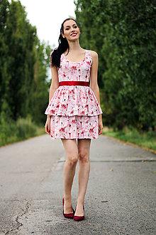 Šaty - Šaty s volánmi - 8437123_