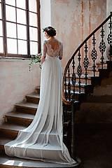 Šaty - Svadobné šaty Magdaléna /maslové - 8437761_