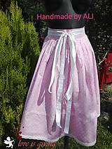 Sukne - Ľudová sukienka - 8438288_