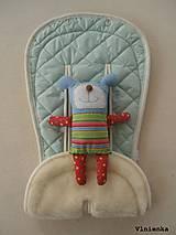 Textil - BUGABOO Podložka do kočiarika MENTOLOVÁ Elegant prešitie - 8437368_