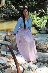 Sukne - Romantička - sukienka dlhá - 8439513_