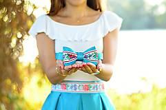 Doplnky - Folklórny motýlik - 8438719_