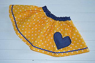 Detské oblečenie - Pískacie sukničky - 8437427_