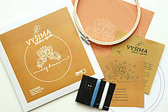 Dekorácie - VYŠIMA - súprava na vyšívanie Svidník - 8438056_