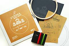 Dekorácie - VYŠIMA - súprava na vyšívanie Torysky - 8438067_