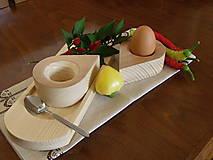 Pomôcky - Stojan na vajíčka - kvapka - 8436900_
