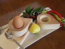Pomôcky - Stojan na vajíčka - kvapka - 8436902_