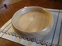 Nádoby - Miska z jaseňa 20cm - 8437179_