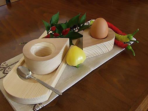 Stojan na vajíčka - kvapka