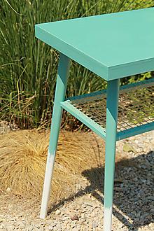 Nábytok - Retro príručný stolík - 8438901_