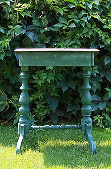 Nábytok - Starosvetský konzolový stolík - 8439327_