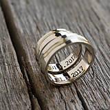 Prstene - Naše cesty sa stretli - 8440135_