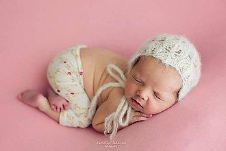Detské čiapky - čiapka pre novorodenca - 8440012_