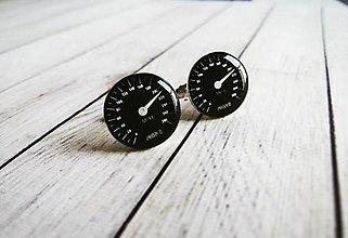 Šperky - Manžetové gombíky tachometer - 8442838_
