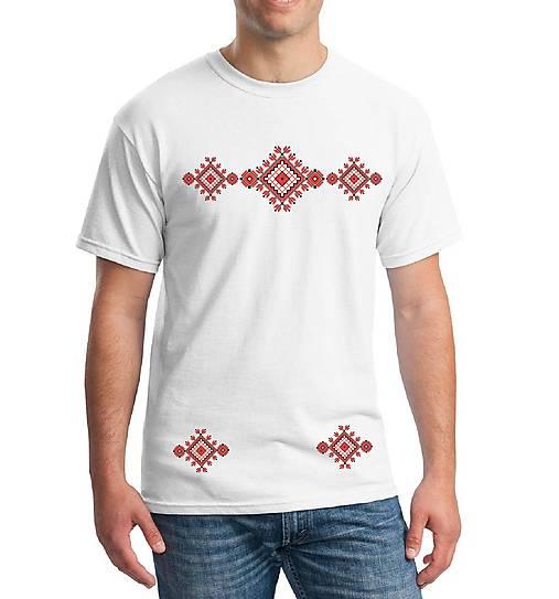 Tričko pánske výšivka 17