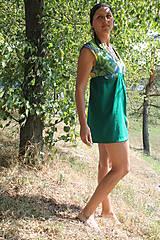 Šaty - Dotyk prírody - šatičky - 8442242_