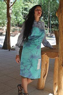 Iné oblečenie - Zástera - dotyk batiky - 8442378_