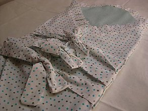 Textil - bodkovaná - 8440893_