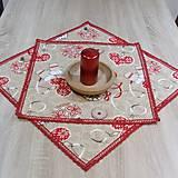 - Severské Vianoce - obrus štvorec 53x53 - 8441960_