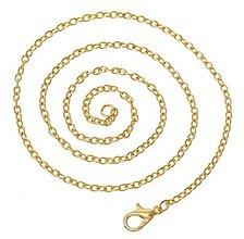 Komponenty - Zlatá retiazka 45cm - 8441997_