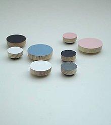 Dekorácie - Drevené magnetky - 8440083_