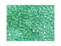 - Korálky 200 ks - brúsené Ø 4 mm - svetlé smaragdové - 8440064_