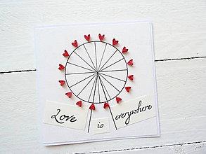 Papiernictvo - svadobná pohľadnica - 8441931_