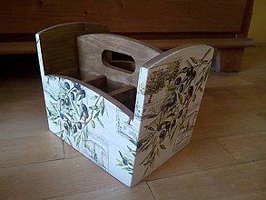 Krabičky - olivy na príbor - 8444206_