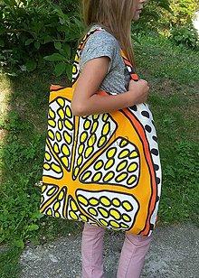 Veľké tašky - Nákupná taška - Pomaranč - 8444817_