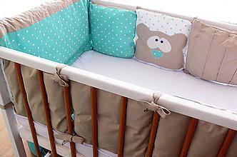 Textil - Vankúšiky do postieľky, mantinel - 8445512_