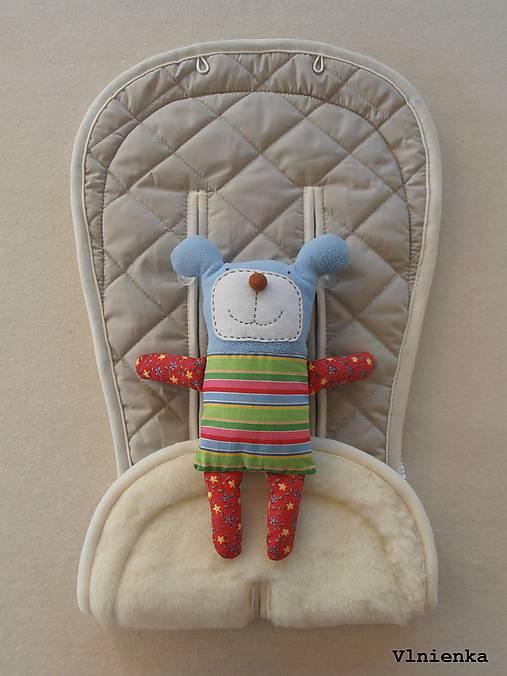 Bugaboo Seat Liner SAND fabric/ Podložka do kočíka béžová Elegant prešitie na mieru