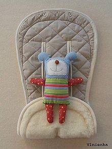 Textil - Bugaboo Seat Liner SAND fabric/ Podložka do kočíka béžová Elegant prešitie na mieru - 8443163_